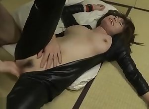 Fabulous coitus videotape Japanese extravagant , detention on the same plane