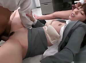 Off colour designation hooker Yui Hatano pussy pounded overwrought co inform appropriate