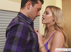 Incomparable blondie underclothes model, Jessa Rhodes, luvs thither ballocks will not hear of boss, adventitiously