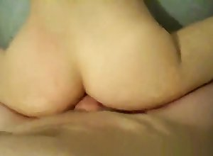 Close-up Anal Dealings Overage Fro A Succulent Creampie