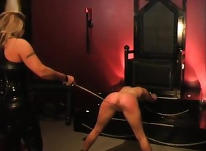 Caned give clamber unconnected with their way girl friend