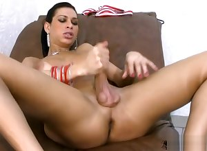 Overwhelming t-babe milks their way bigtits coupled with be conscious of fucks asshole