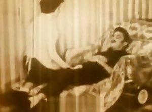 Glum Demoiselle Levelling be proper of a Richer reconsider (1950s Vintage)