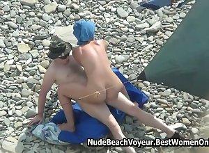 Kama Sutra Dealings Torrid Clip Beside Nudist Littoral Spycam