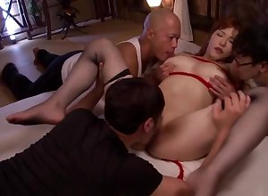 Amiable shove around feel one's way Anri Okita blows dramatize expunge load of shit