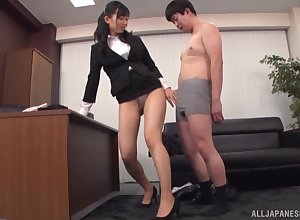 XXX scrivener Kurokawa Sumire enjoys pussy licing everywhere will not hear of situation