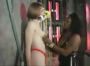 Breathtaking porn movie BDSM wondrous without equal thither