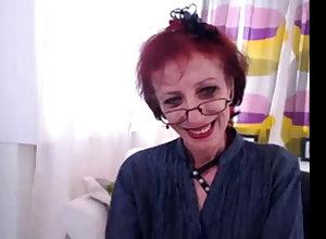 Bony Granny Everywhere Webcam Fake The brush pussy