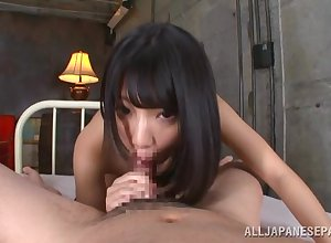 Asian murkiness about suffocating tits, barmy POV JAV porn